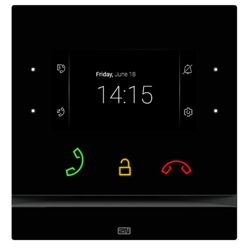 2N Indoor Compact Intercom Touch Panel for 2N Verso, Vario, Force & Safety