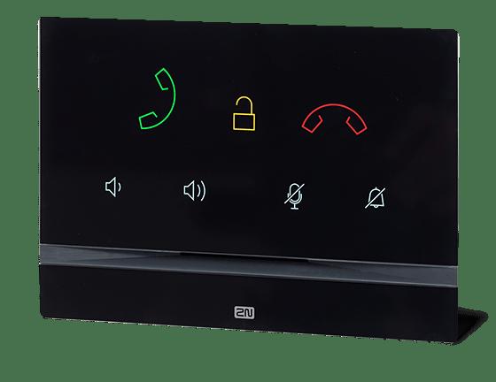 2N Indoor Talk indoor voice only panel in black