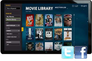 Boxee Box Movie Library
