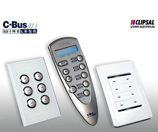 Clipsal CBUS wireless - Same C-bus automated innovation - Just Wireless