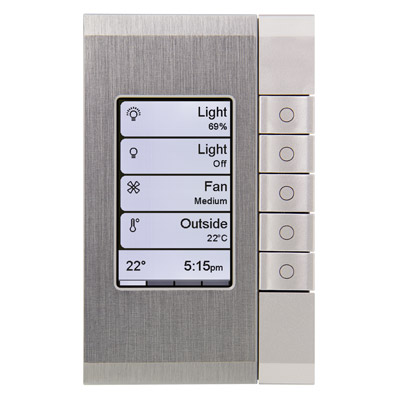 Clipsal C-Bus eDLT Enhanced DLT Switch - Dynamic Labelling Technology