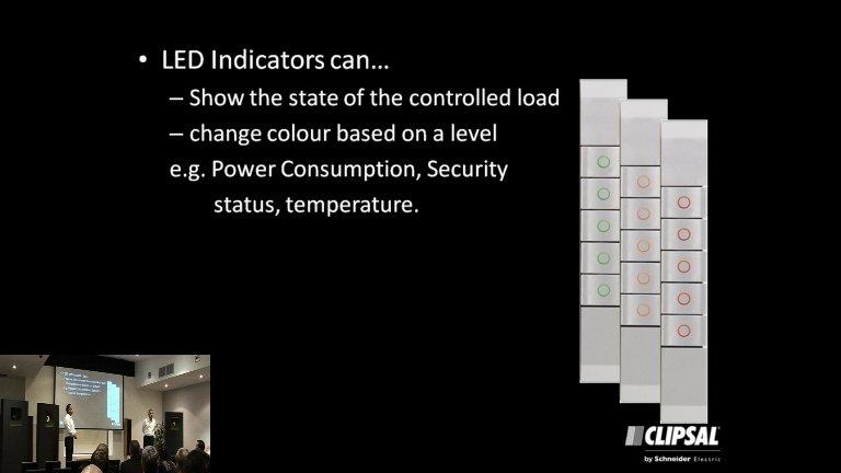 Clipsal Colour eDLT indicators