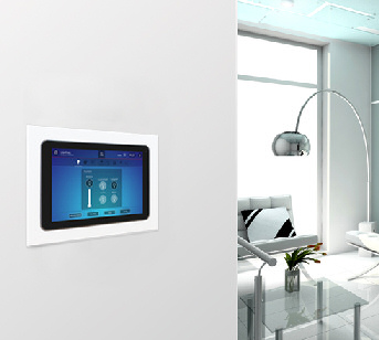 Clipsal 5000ETP10W Ethernet Touch Panel