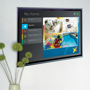 Touch Screens are the interface to your Smart Home