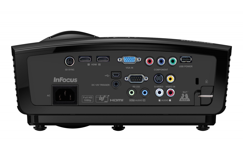Infocus Video Projector System Interconnects for IN8606HD