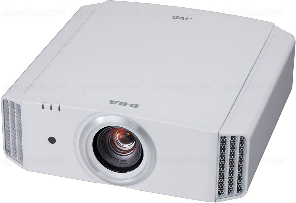 JVC DLA-X5000 4K Home Theatre Video Projector with white case