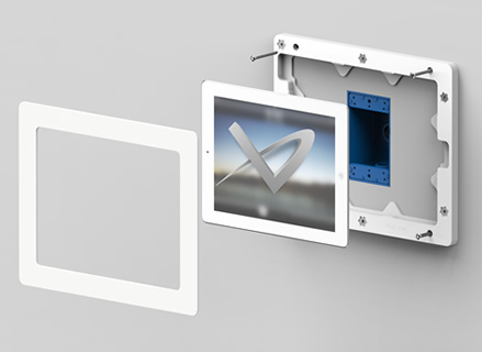 iPad Pro Wall Mount Frame by Vidabox