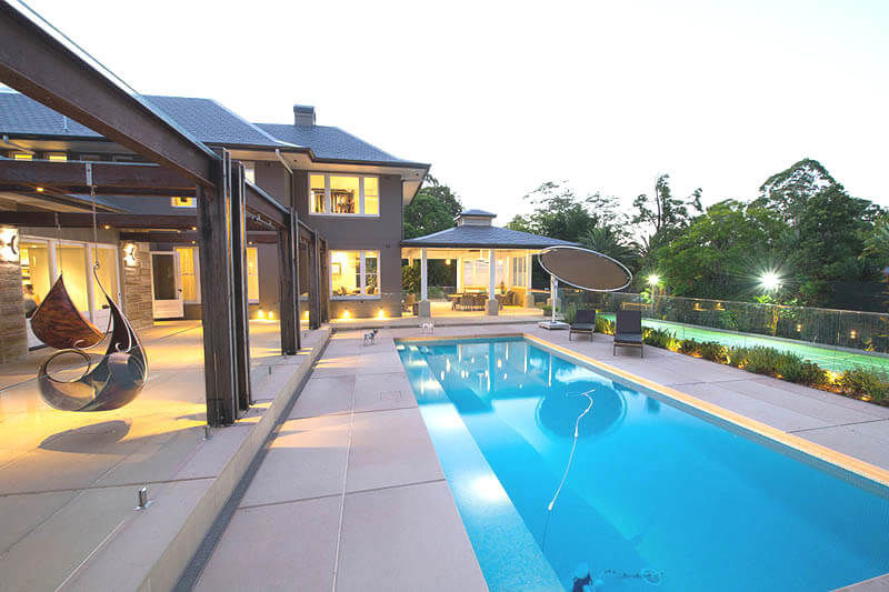 Wahroonga Project - Pool Area and Pavillion