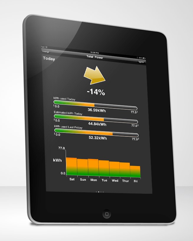 Wiser on iPad Home Automation