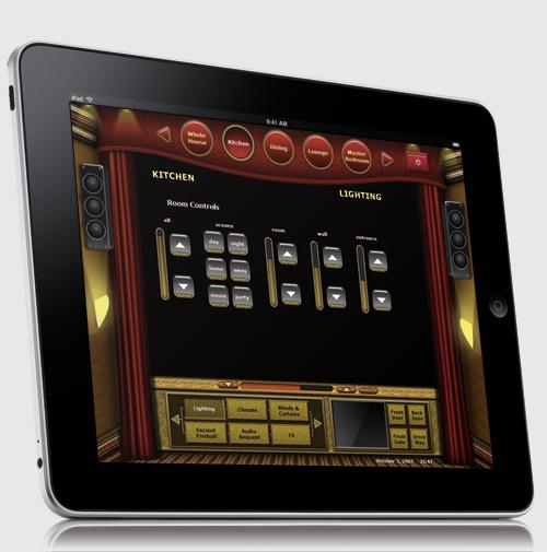 Apple iPad running home automation