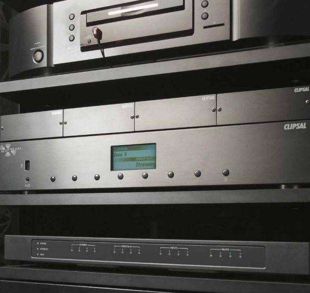 Clipsal multi-room audio matrix swicher for C-Bus