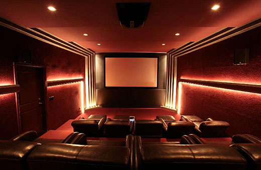 Pin wallpaper home theaters cinema lcd tv theater room on for Wallpaper home theater