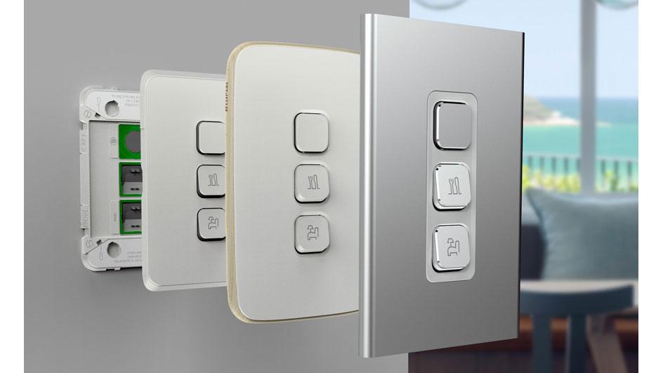 Clipsal Iconic range Switchplates