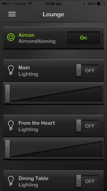 control lighting with iphone. Wiser2 GUI IPhone Example \u0027Lounge\u0027 Control Lighting With Iphone