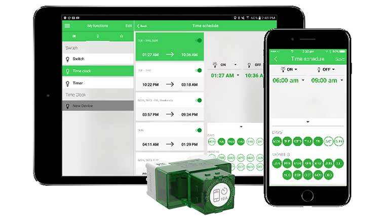 Clipsal Iconic Home Automation system