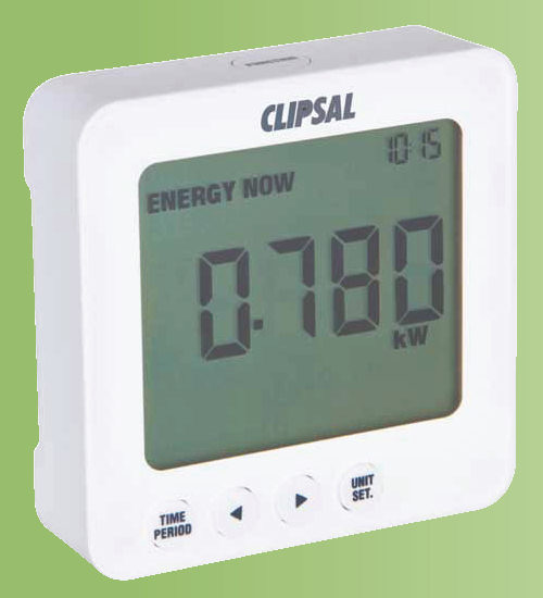 Home Energy Use Monitor : Power use monitor industrial electronic components