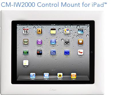 iPort iPad dock & in-wall mount
