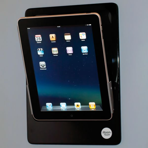 iRoom iDock Ejectable Flush iPad Wall Mount Buy|with|Nous