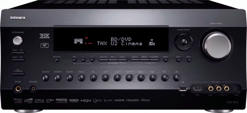 Integra Onkyo Home Theatre Multi-Room Receiver DTR_80_3