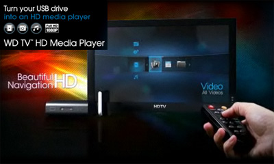 Media Players StandAlone - WD TV HD USB Media Player