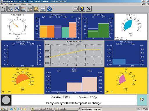 Davis WeatherLink PC Software