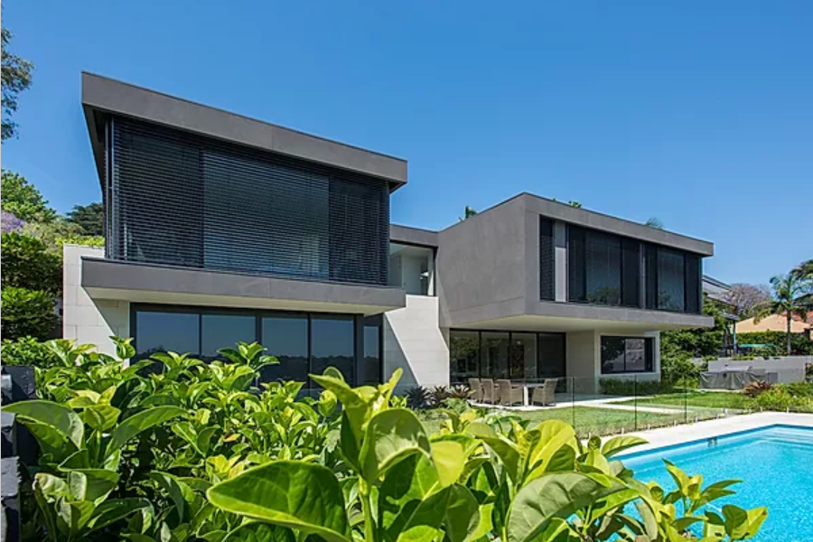 Hunters Hill Project - New Waterfront House  - Waterside bliss on a sunny day