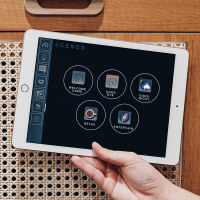 iPad, Android tablet or wall based touchscreens can conveniently control your C-Bus Smart Home