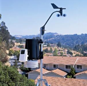 Davis Instruments Pro2 Plus Weather Station in suburbs